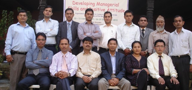 Training Program on Developing Managerial Skills and Positive Attitude